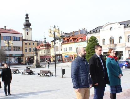 Představitelé radnice se poklonili památce T. G. Masaryka