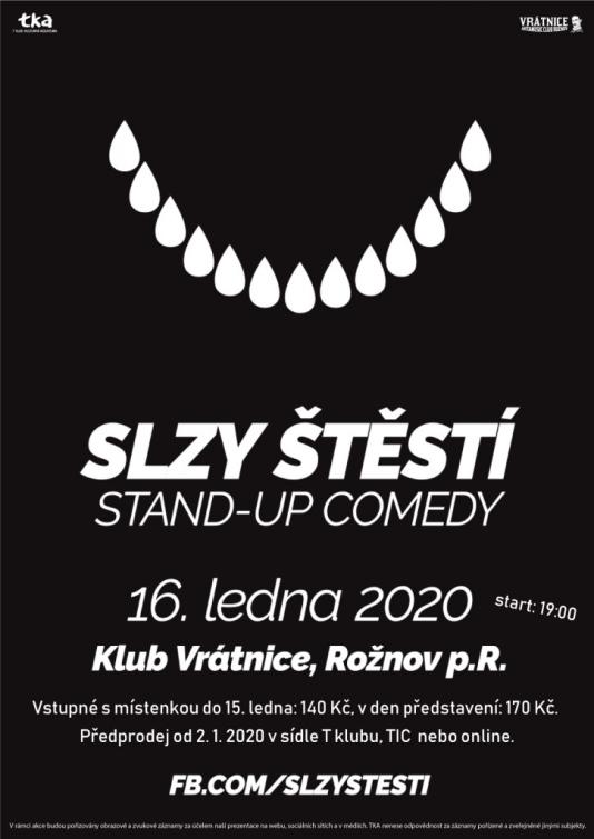 Slzy štěstí - Stand Up Comedy podruhé