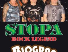 Sobota v rožnovské Vrátnici: Stopa a Biograf Band