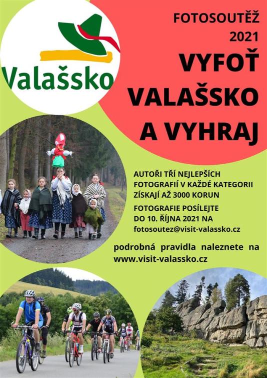 Destinační společnost Valašsko vyhlašuje fotosoutěž