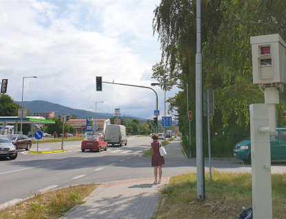 Stacionární radary vRožnově spouštějí ostrý provoz vpondělí 12. srpna