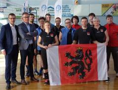 Třetí místo na volejbalovém turnaji partnerských měst