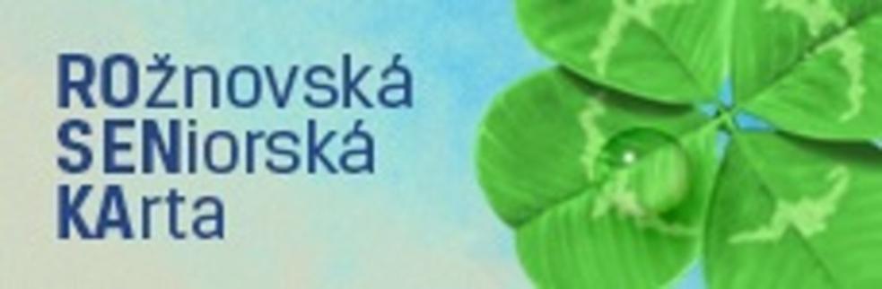 Město opět vydá Rožnovskou seniorskou kartu