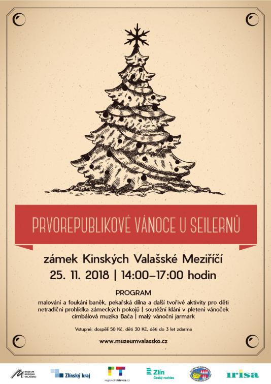 Prvorepublikové vánoce u Seilernů