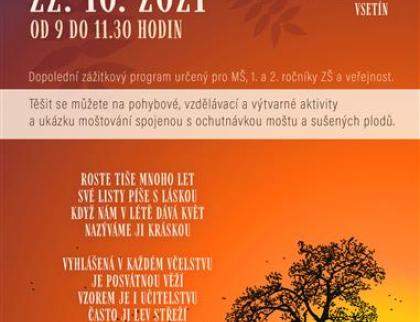 V pátek proběhne v Panské zahradě oblíbený Den stromů