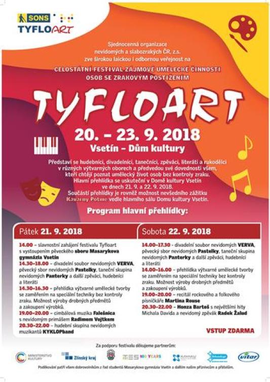 Přijďte na festival zájmové umělecké činnosti osob se zrakovým postižením