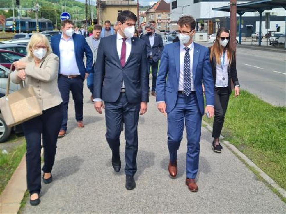 Vsetínští a krajští radní zasedli ke společnému jednání