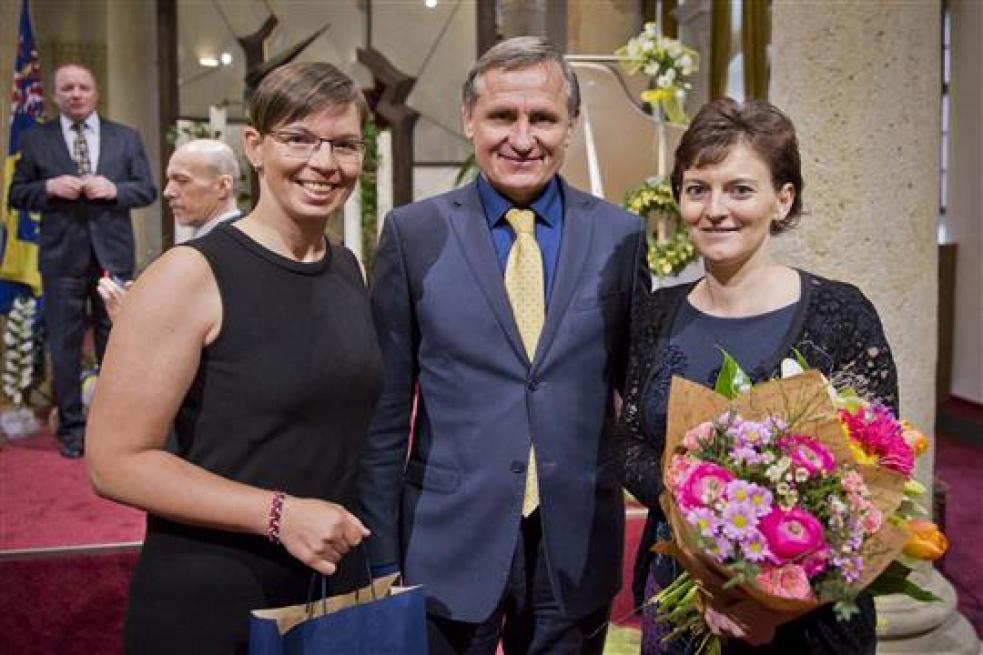 Petra Zgarbová patří mezi učitele a pracovníky školství oceněné Zlínským krajem