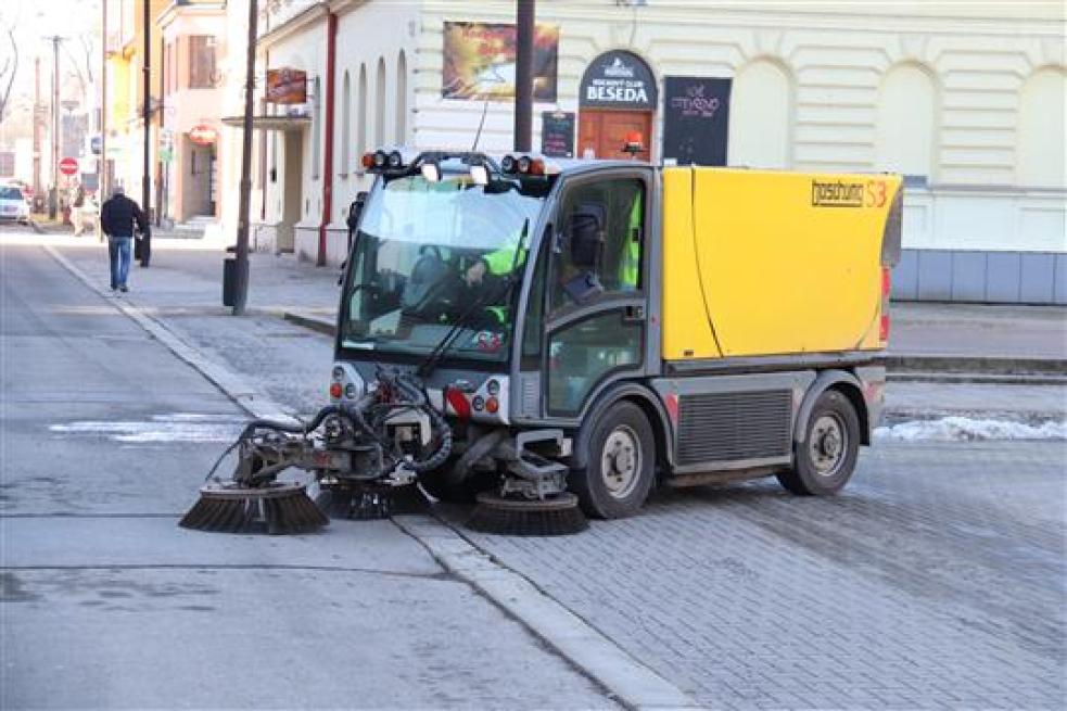 Příští týden začne ve Vsetíně blokové čistění města
