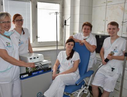 Vsetínská chirurgie využívá nový elektroskalpel a další vybavení za bezmála 140 tisíc korun