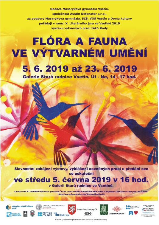 Výstava soutěžních prací Fauna a flora ve výtvarném umění