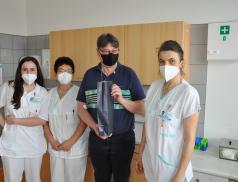 Ve vsetínské nemocnici přivítali jubilejního dárce a vyzývají další zájemce