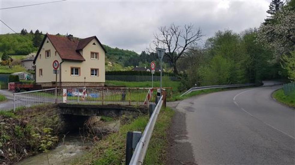 Most na Jasence čeká kvůli havarijnímu stavu demolice. Nahradí ho nový