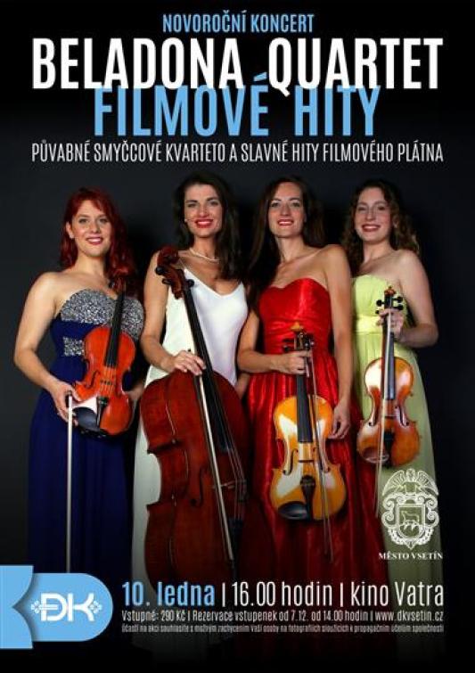 Novoroční koncert v kině Vatra