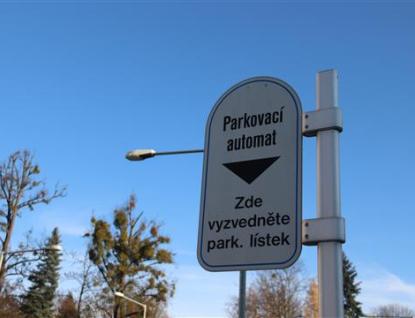 Parkovné zaplatíte na Vsetíně i přes mobilní telefon