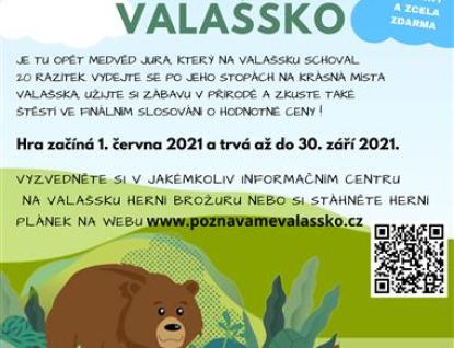 Objevte krásy Valašska s medvědem Jurou a zahrajte si o ceny