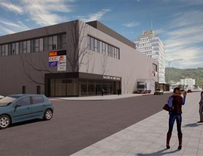 Výstavba podzemního parkoviště v přednádraží pokračuje