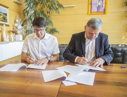 Zlínský kraj a město Vsetín budou spolupracovat na prodloužení vsetínské Nádražní ulice