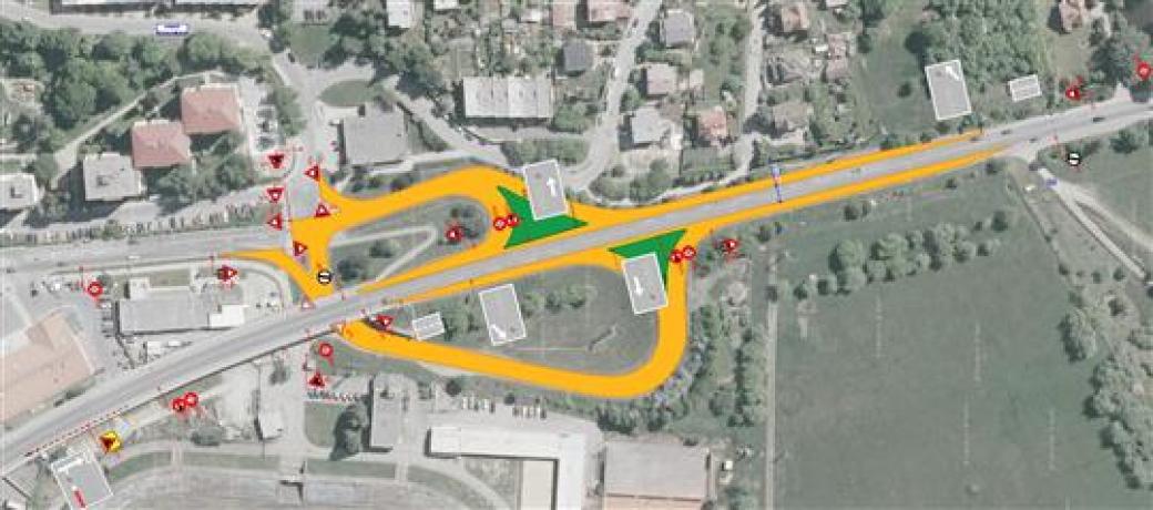 Silniční rampy na Ohradě jsou uzavřeny