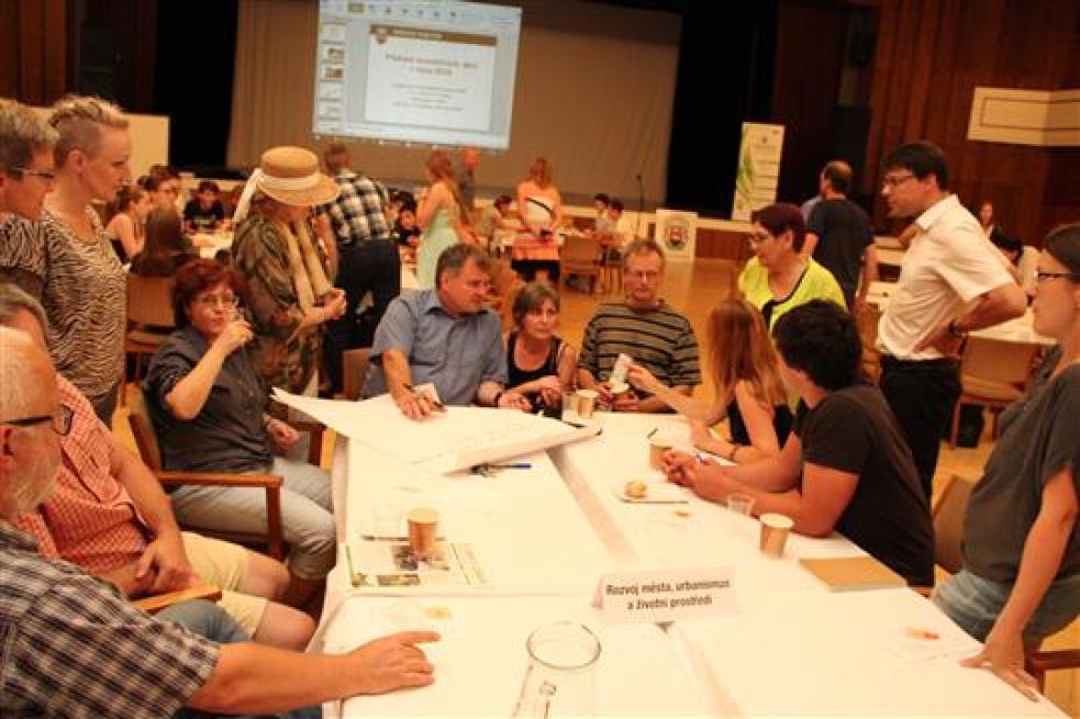Vsetínský radnice zapojila občany do rozhodovacího procesu