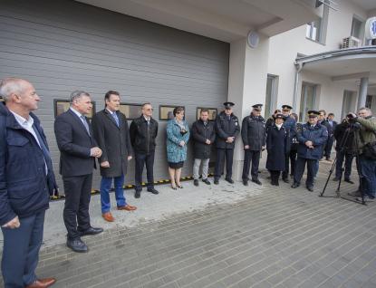 Budova záchranky ve Vsetíně byla zateplena a rozšířena