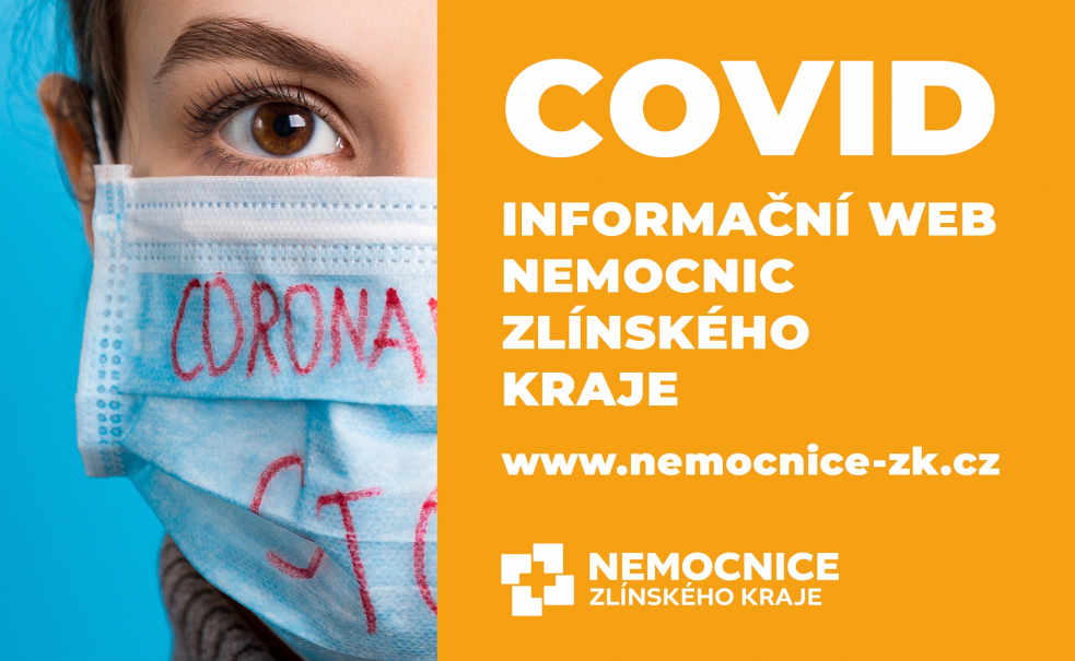Nemocnice Zlínského kraje spustily nový web, na kterém lidé najdou informace o koronaviru