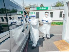 Na výstavišti vKroměříži bude nové odběrové místo, tamní nemocnice v pátek provedla tisícovku odběrů