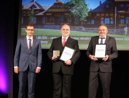 Obnova Libušína byla oceněna vsoutěži Stavba roku Zlínského kraje