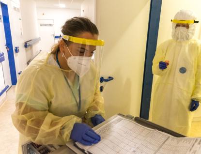 Covidové pacienty už začaly přijímat i další nemocnice Zlínského kraje, vUherském Hradišti odkládají operace