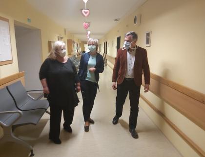 Koronavirus je potvrzen u dvoudomovů pro seniory a u dvou pracovníků terénních pečovatelských služeb vUherském Brodě