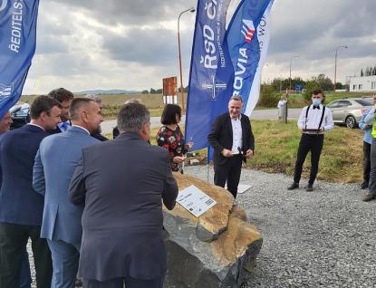 U Starého Města byla slavnostně zahájena stavba dalšího úseku dálnice D55