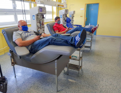 Dárci plazmy mají v Uherskohradišťské nemocnici nové prostory, odběry nyní probíhají denně