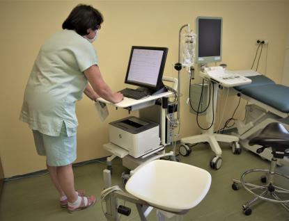 Samba pomáhá v Kroměřížské nemocnici při léčbě inkontinence, zvládne až 900 vyšetření ročně
