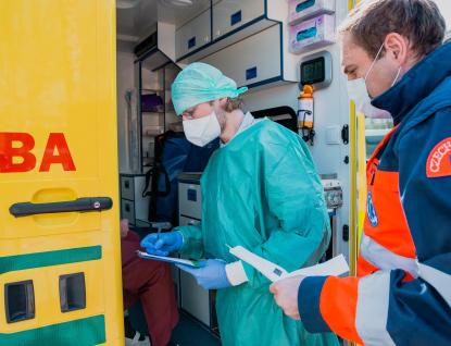Nemocnice jsou za naši pomoc vděčné, říká student Martin Navrátil, který nabídl své služby v Kroměříži