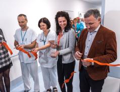 Zlínská nemocnice otevřela nový pavilon, na jednom místě koncentruje paliativní péči a léčbu bolesti