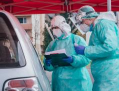 Odběrů u pacientů s podezřením na onemocnění covid-19 jsou ve Zlíně tisíce a další přibývají
