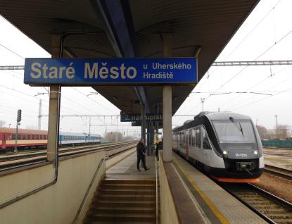 Dopravce Arriva vlaky uspořádal ve Zlínském kraji prezentační jízdu