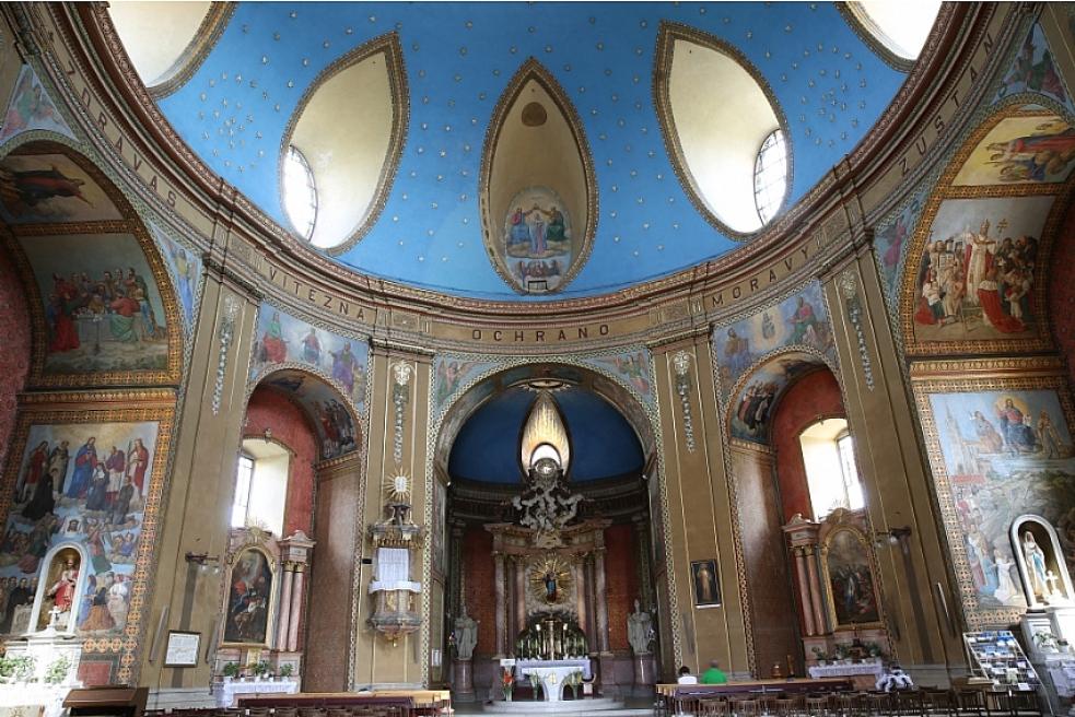 I vroce pandemie koronaviru měli lidé ve Zlínském kraji velký zájem o prohlídky kostelů