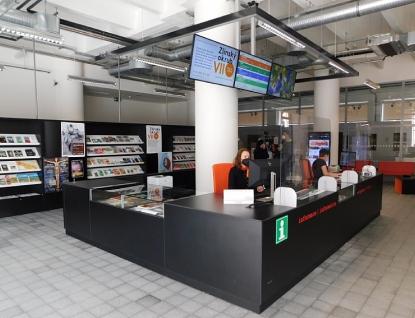 Turisté mohou využívat služeb nově otevřeného Krajského turistického informačního centra ve 14 15 BAŤOVĚ INSTITUTU