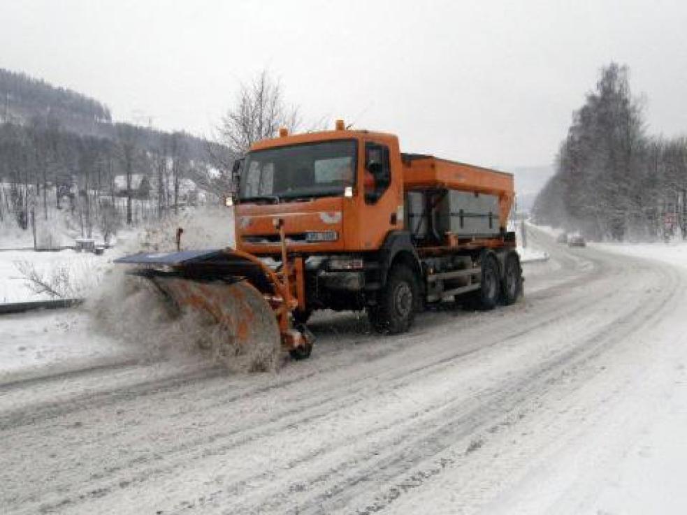 Náklady na zimní údržbu silnic ve Zlínském kraji byla v lednu rekordní