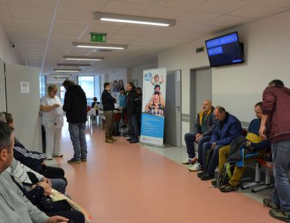 Muži proti rakovině: Na urologii Uherskohradišťské nemocnice vyšetřili  přes stovku zájemců