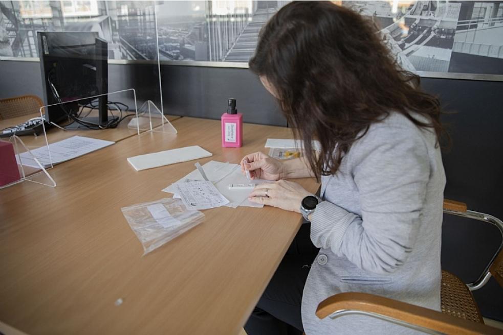 Zaměstnanci Krajského úřadu Zlínského kraje podstoupili testování na koronavirus