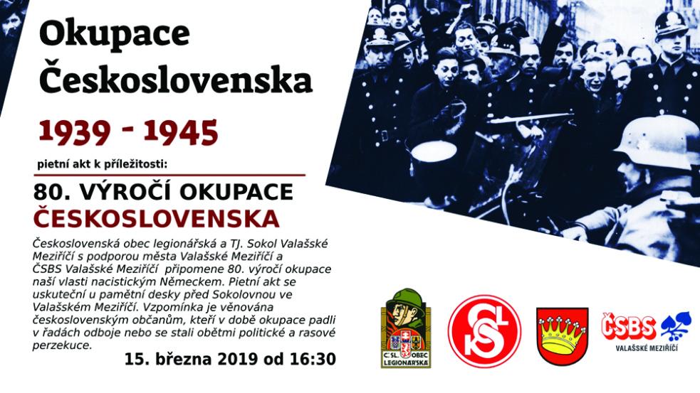 Vzpomínka na oběti nacistické okupace před Sokolovnou