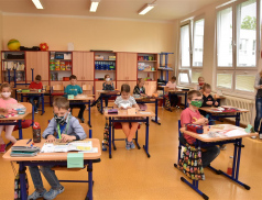 Meziříčské základní školy přivítaly 669 žáků prvního stupně