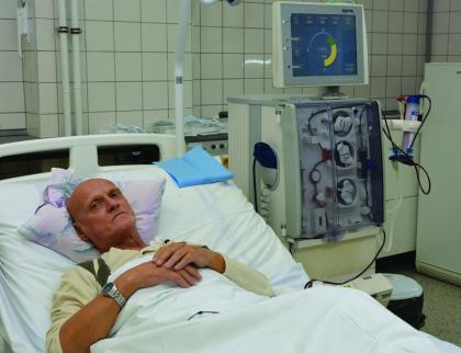 """""""Rekordman"""" absolvoval už přes pět tisíc dialýz vUherskohradišťské nemocnici"""