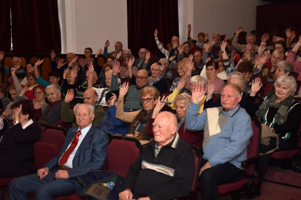 Členové Klubu seniorů uspořádali výroční schůzi