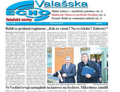 Právě vyšlo březnové ECHO Valašska č. 3
