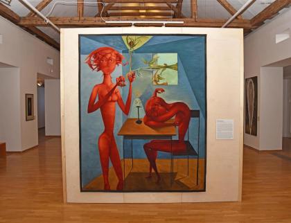 Gobelíny zValmezu zdobí Muzeum moderního umění v Olomouci