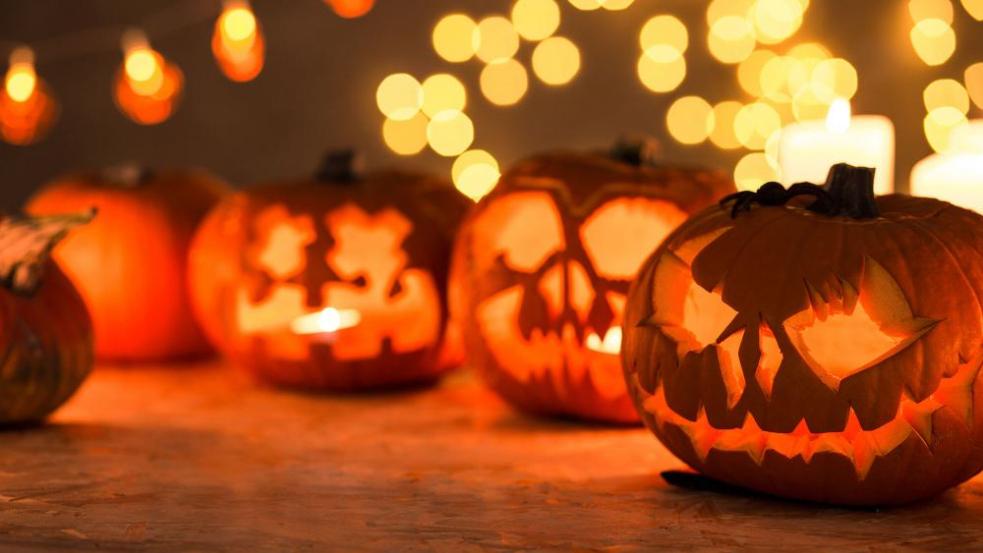 Halloween na zámku Lešná