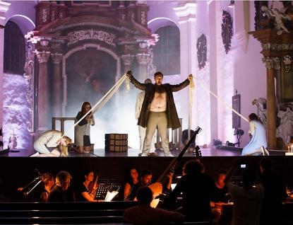První oratorium v dějinách hudby provede scénicky Czech Ensemble Baroque na Zámku Holešov